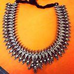 Silver Handmade Peacock Necklace From Rajatmaya
