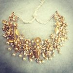 Unique Handmade Silver Gold Plated Necklace From Bcos Its Silver