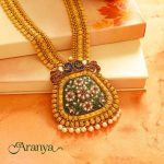 Amazing Antique Necklace From Manubhai Jewellers