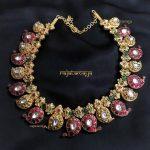 Silver Handmade Mango Necklace From Rajatamaya