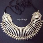 Silver Tribal Necklace From Rajatamaya