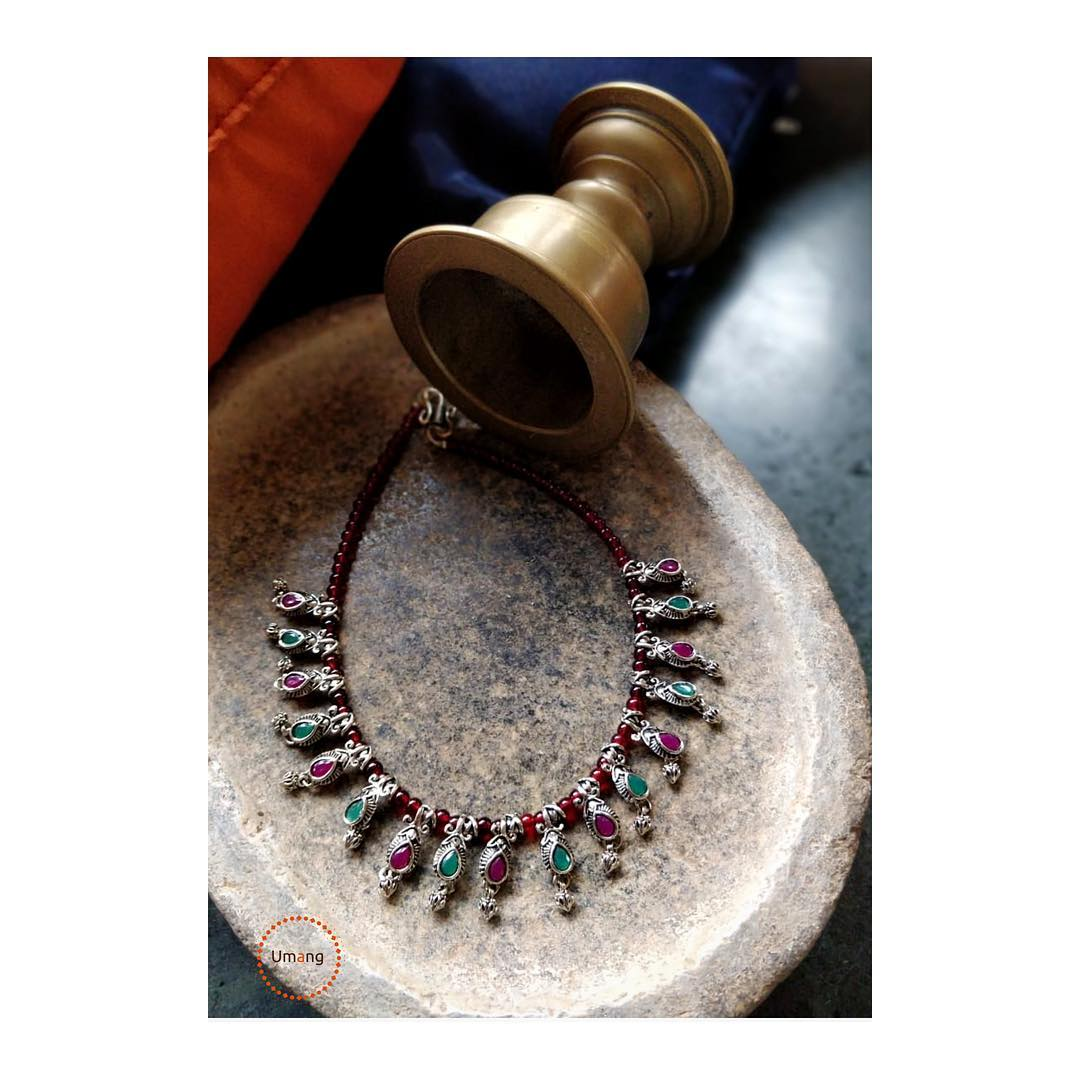 Simple Beaded Necklace From Umagbeads