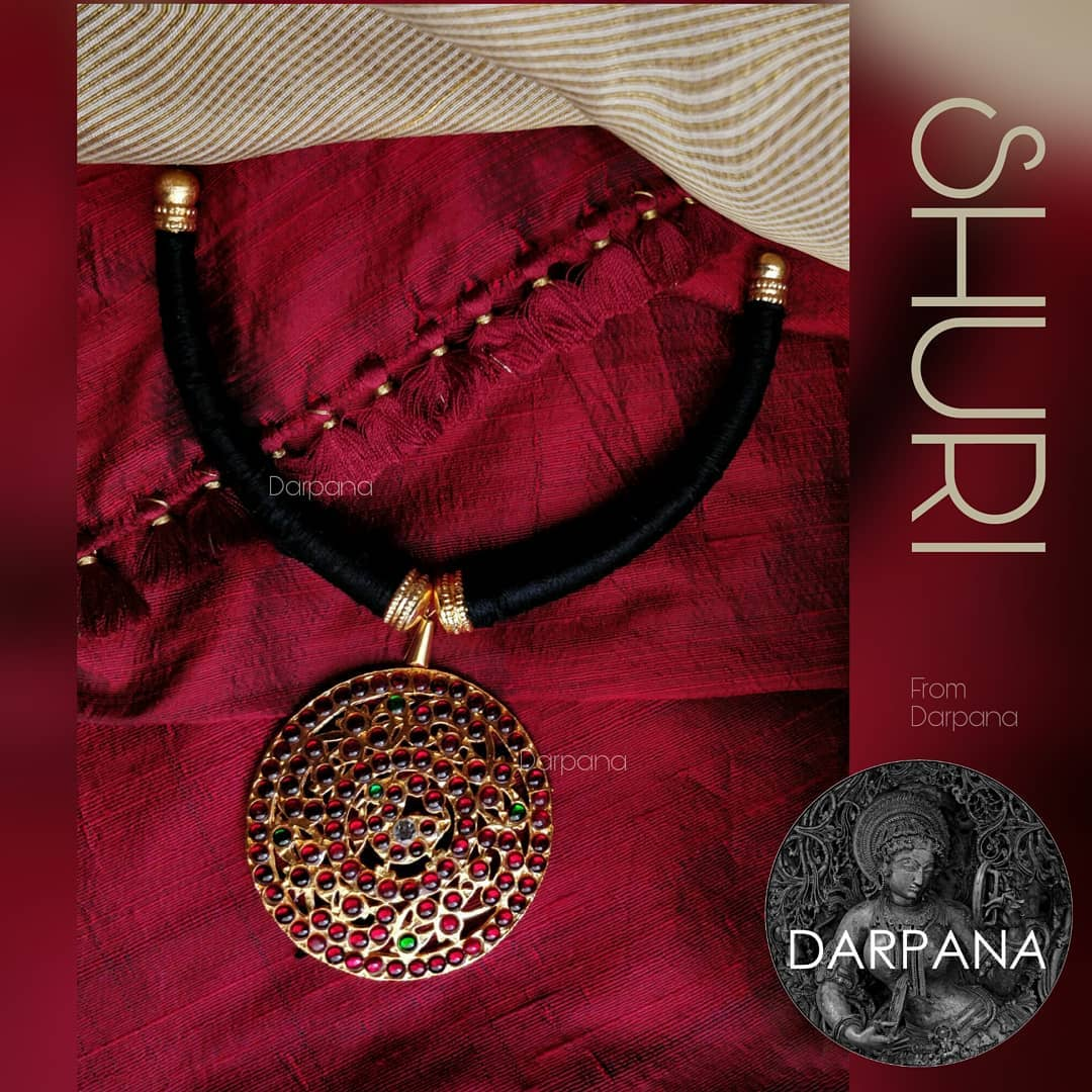 Simple Thread Necklace From Darpana