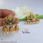 Beautiful Jhumka From Vibha Creations