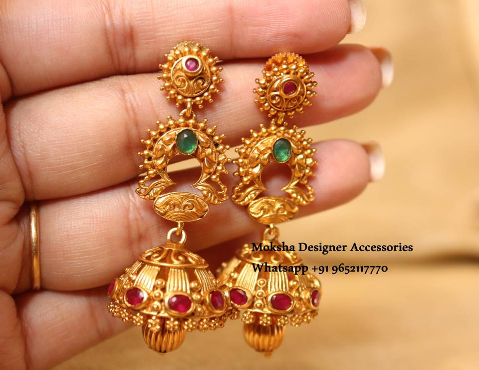 Pretty Earring From Moksha Designer Accessories