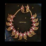 Amazing Necklace Set From Rajatamaya