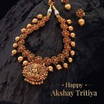 Auspicious Temple Set From Kushal's Fashion Jewellery