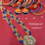 Beautiful Threadwork Necklace From Vdesign4U
