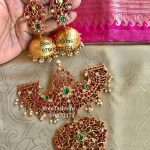 Classic Silver Jhumka With Pendant From Sree Exotic Silver Jewelleries