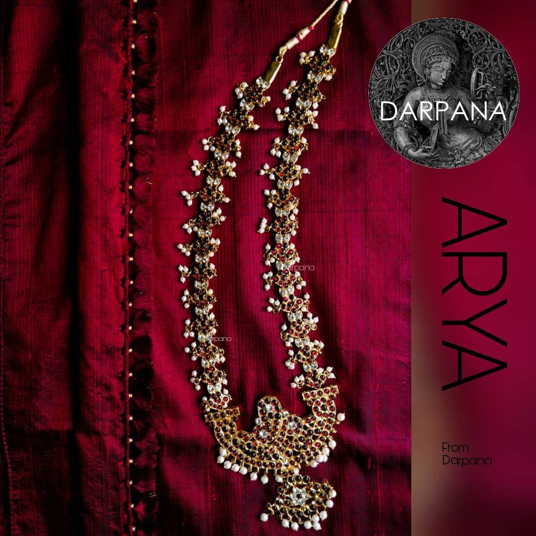 Ethnic Long Necklace From Darpana