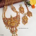 Mesmerizing Lakshmi Haram From Vibha Creations