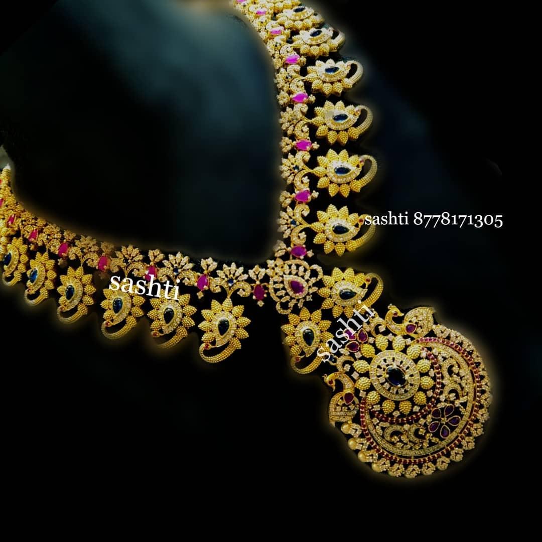 Pretty Necklace From Silver Sashti
