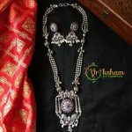 Fashionable German Silver Necklace From Vriksham