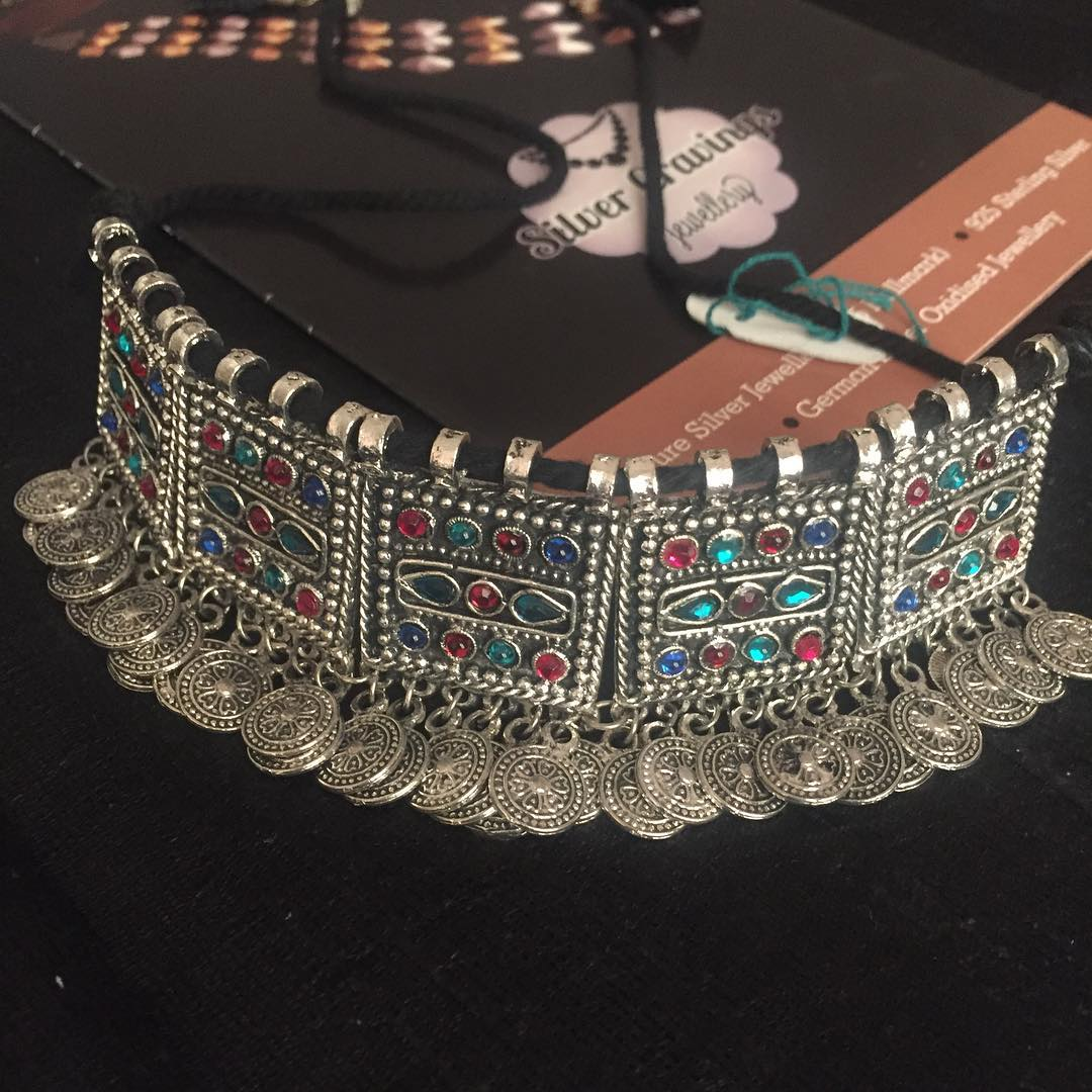Tribal Choker Set From Silver Cravings Jewellery