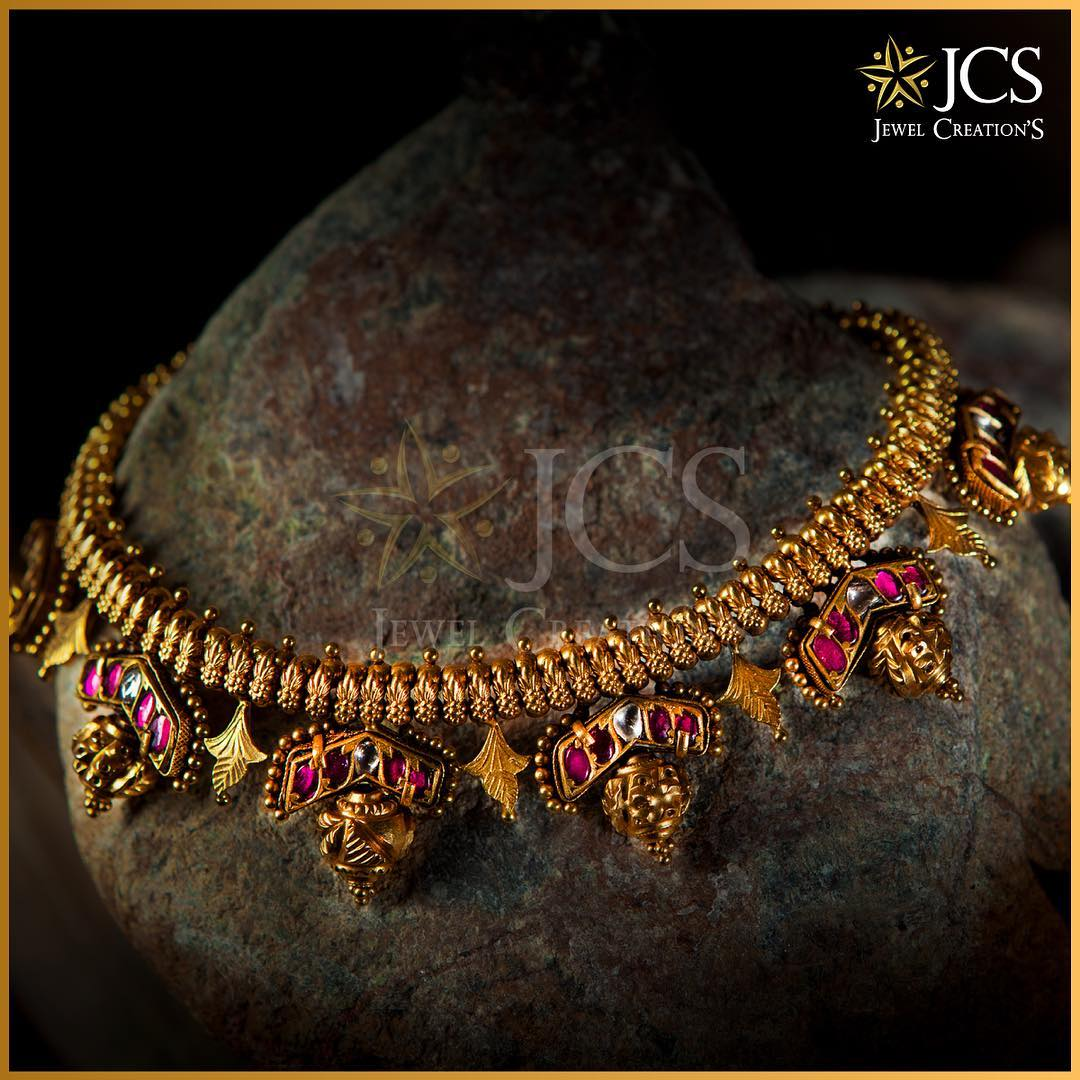 Elegant Gold Necklace From Jcs Jewel Creations