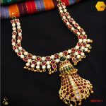 Ethnic Gold Plated Silver Necklace From Sparsak Jewels