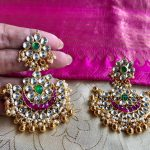 Ethnic Silver Earring From Sree Exotic Silver Jewelleries