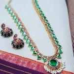 Graceful Mango Necklace Set From Vasah India