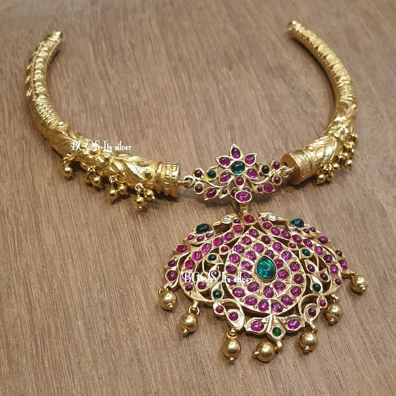 Simple Gold Plated Silver Necklace From Bcos Its Silver