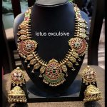 Amazing Gold Plated Silver Necklace From Lotus Silver Jewelleries