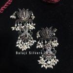 Beautiful Lotus Earring From Balaji Silvers