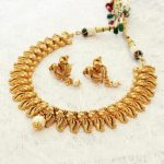 Beautiful Peacock Necklace Set With Pearl From Aatman India