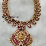 Classic Mango Necklace from Sree Exotic Silver Jewelleries