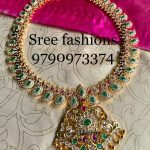 Eye Catching Mango Necklace From Sree Exotic Silver Jewelleries