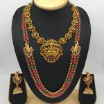 Gorgeous Necklace Set From Kovai Collections