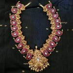 Gorgeous Silver Gold Plated Mango Mala From Rajatamaya