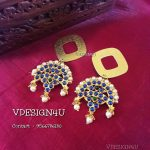 Latest Earring From Vdesign4u