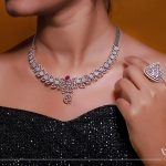 Pretty Diamond Necklace From Aarni By Shravani