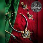Unique Necklace Set From Darpana