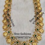 Amazing Temple Long Necklace From Sree Exotic Silver Jewelleries