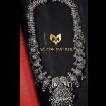 Attractive Silver Long Necklace From Ms Pink Panthers