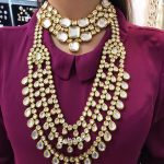 Bold Polki Kundan Bridal Set From Suhana Art And Jewels