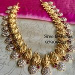 Eye Catching Haram From Sree Exotic Silver Jewelleries