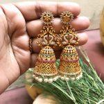 Gorgeous Jhumka From Kirthi Fashions