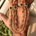 Gorgeous Multilayered Necklace From Kirthi Fashions