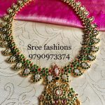 Graceful Mango Necklace From Sree Exotic Silver Jewellery