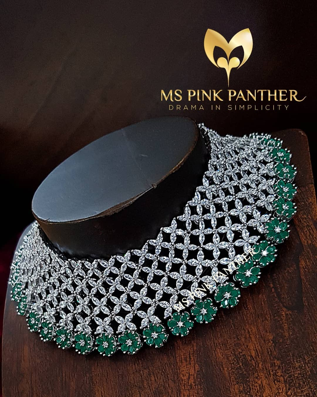 Luxury Choker From Ms Pink Panthers