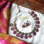 Pretty Pink Necklace From Vriksham
