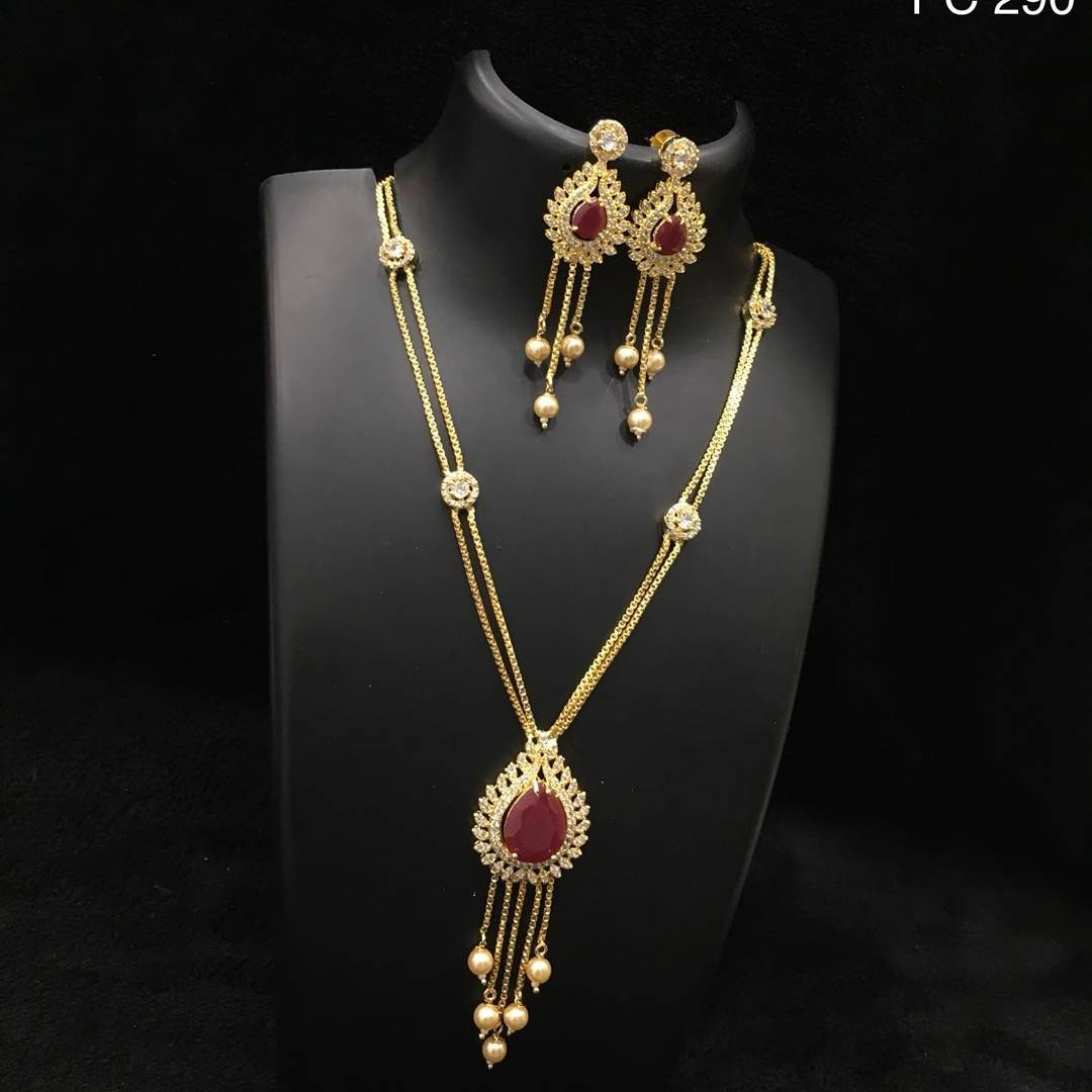 Simple Necklace Set From Alamakara