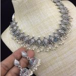 Stunning Silver Polished Necklace From Ethniq Diva