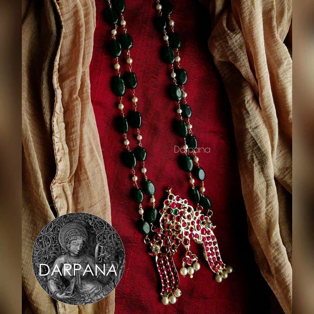 Unique Long Necklace from Darpana
