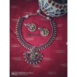 Unique Pink Necklace Set From Izhaiyini
