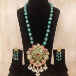 Beautiful Beaded Necklace Set From Queen Jewels
