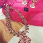 Beautiful Kemp Necklace Set From Vasah India
