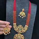 Beautiful Long Necklace Set From All That Glitters Jewellery