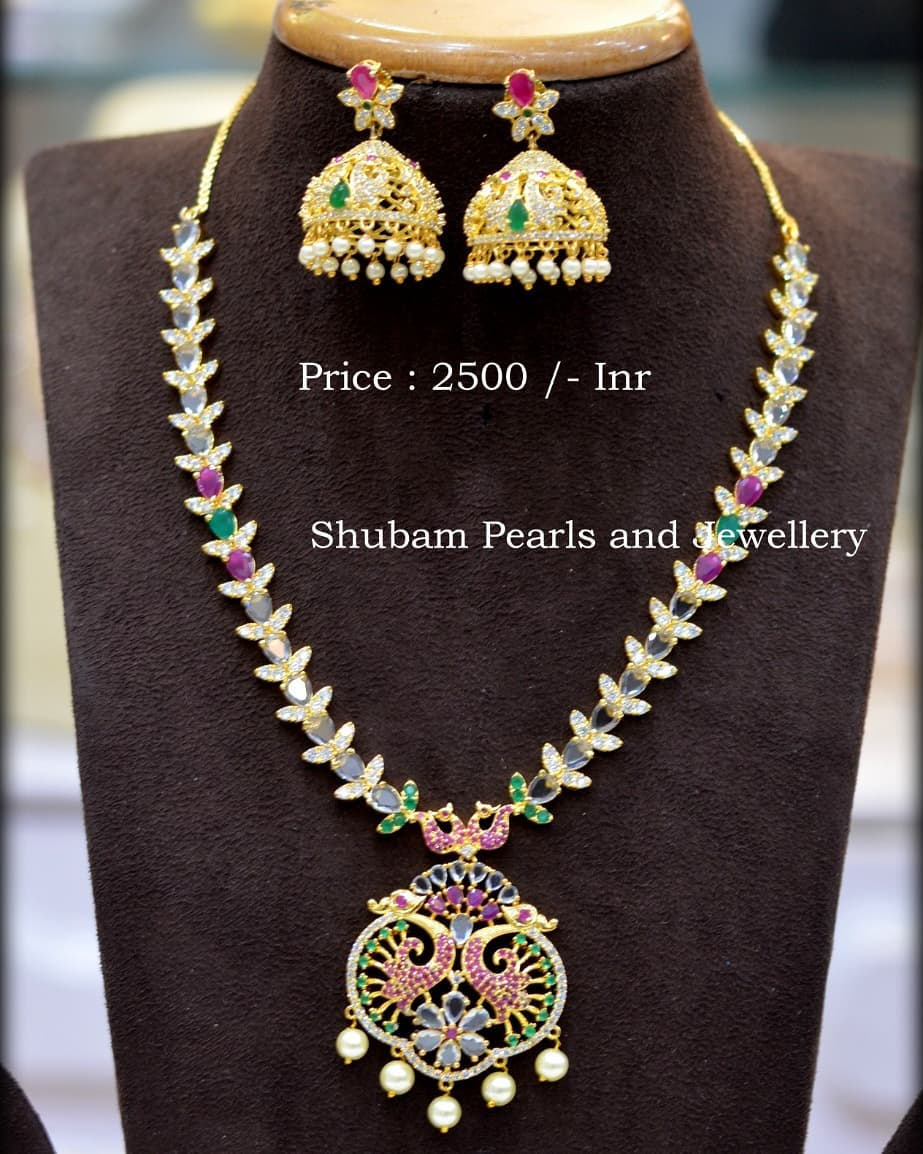 Classic Necklace Set From Shubam Pearls
